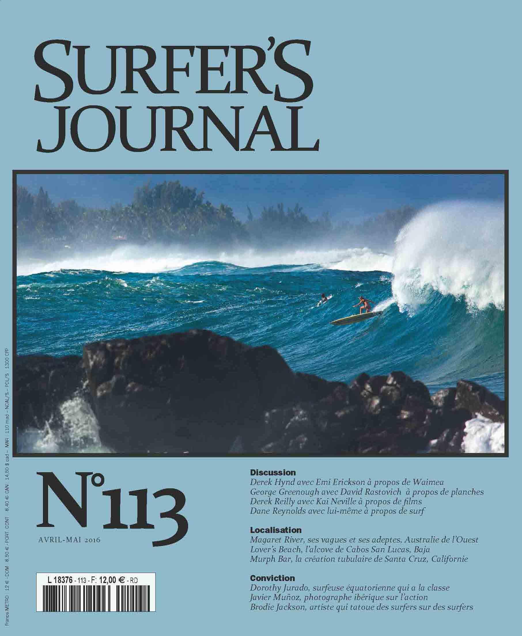 Surfer journal