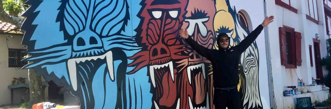 L'artiste Tristan Barroso