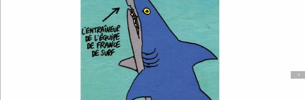 La liberté de surfer, de dessiner